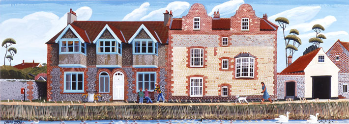 Houses Cley