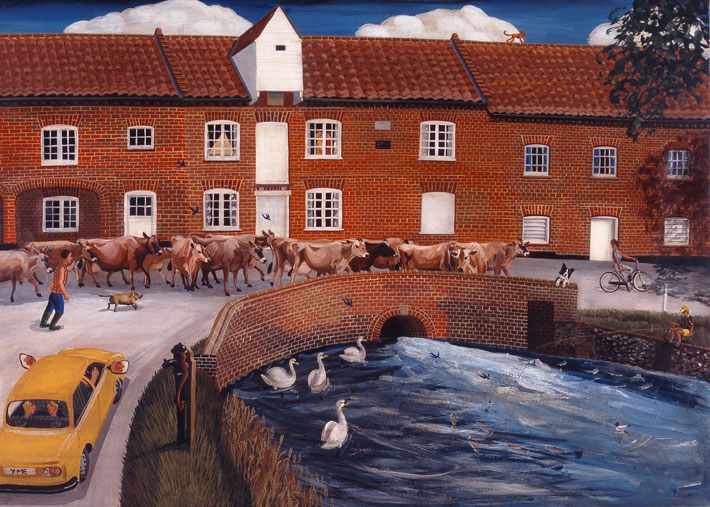 Water Mill Burnham Overy