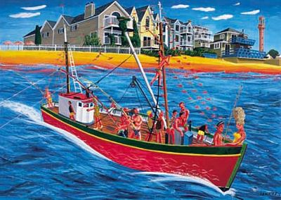 Fishing Trip, Province Town, Cape Cod