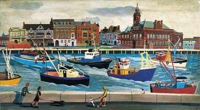 Great Yarmouth Art Prints by Brian Lewis, Fishing Boats, Great Yarmouth